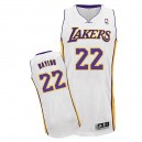 Maillot blanc de NBA Elgin Baylor authentiques hommes - Adidas Los Angeles Lakers & remplaçant 22