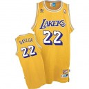 Maillot or NBA Elgin Baylor Throwback authentique masculin - Mitchell et Ness Los Angeles Lakers & 22