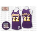 Jersey violet NBA Elgin Baylor Throwback authentique masculin - Mitchell et Ness Los Angeles Lakers & 22