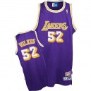 Jersey violet NBA Jamaal Wilkes Throwback authentique masculin - Adidas Los Angeles Lakers & 52