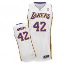 NBA James digne maillot blanc masculine authentique - Adidas Los Angeles Lakers & remplaçant 42