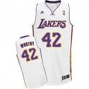 NBA James digne maillot blanc masculine Swingman - Adidas Los Angeles Lakers & remplaçant 42