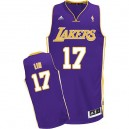 Jersey violet NBA Lin Swingman Jeremy masculine - Adidas Los Angeles Lakers & route 17