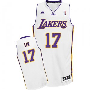 Maillot blanc NBA Lin Swingman Jeremy masculine - Adidas Los Angeles Lakers & remplaçant 17