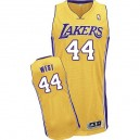 Jersey or Ouest authentique masculin Jerry NBA - Adidas Los Angeles Lakers & 44 Accueil
