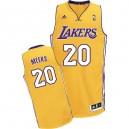 Maillot or NBA Swingman de Jodie Meeks masculine - Adidas Los Angeles Lakers & maison 20