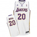 Maillot blanc NBA Swingman de Jodie Meeks masculine - Adidas Los Angeles Lakers & remplaçant 20