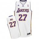 Maillot blanc Hill Jordan NBA Swingman masculine - Adidas Los Angeles Lakers & remplaçant 27