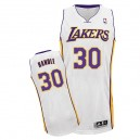 Maillot blanc de NBA Julius Randle authentiques hommes - Adidas Los Angeles Lakers & remplaçant 30