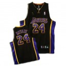 Noir/violet Jersey NBA Kobe Bryant authentique masculin - Adidas Los Angeles Lakers & 24 Champions