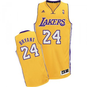 Maillot or NBA Kobe Bryant Swingman masculine - Adidas Los Angeles Lakers & 24 Accueil