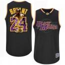 Jersey noir NBA Kobe Bryant Swingman masculine - Adidas Los Angeles Lakers & 24 notoire