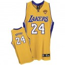 Maillot or NBA Kobe Bryant Swingman masculine - Adidas Los Angeles Lakers & 24 finales maison