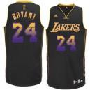 Jersey noir NBA Kobe Bryant Swingman masculine - Adidas Los Angeles Lakers & Vibe 24