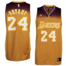 Maillot or NBA Kobe Bryant Swingman masculine - Adidas Los Angeles Lakers & 24 résonnent Fashion