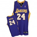 NBA Kobe Bryant authentique jeunesse violet Jersey - Adidas Los Angeles Lakers & 24 route Champions
