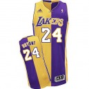 Or/violet Jersey NBA Kobe Bryant Swingman homme - Adidas Los Angeles Lakers & mode Split 24