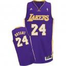 Jersey violet NBA Kobe Bryant Swingman masculine - Adidas Los Angeles Lakers & Road 24