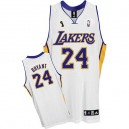 Maillot blanc NBA Kobe Bryant Swingman masculine - Adidas Los Angeles Lakers & 24 Champions suppléants