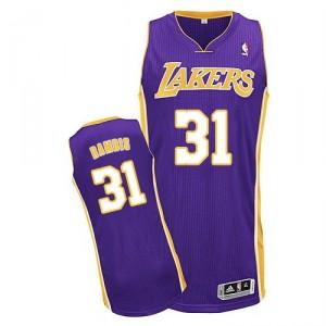 Jersey violet de Kurt Rambis NBA authentiques hommes - Adidas Los Angeles Lakers & route 31