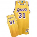 Maillot or Kurt Rambis NBA authentique Throwback masculine - Mitchell et Ness Los Angeles Lakers & 31