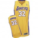 NBA Magic Johnson jeunesse authentique maillot or - Adidas Los Angeles Lakers & maison 32