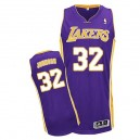 NBA Magic Johnson jeunesse authentique violet Jersey - Adidas Los Angeles Lakers & route 32