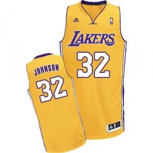 Jeunesse de NBA Magic Johnson Swingman maillot or - Adidas Los Angeles Lakers & maison 32