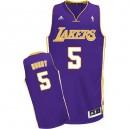 Jersey violet NBA Swingman de Robert Horry masculine - Adidas Los Angeles Lakers & Road 5