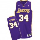 Jersey violet Shaquille o ' Neal NBA Swingman masculine - Adidas Los Angeles Lakers & route 34