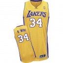 Jersey or de NBA Shaquille o ' Neal authentiques hommes - Adidas Los Angeles Lakers & maison 34