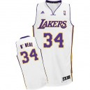 Maillot blanc Shaquille o ' Neal NBA Swingman masculine - Adidas Los Angeles Lakers & remplaçant 34
