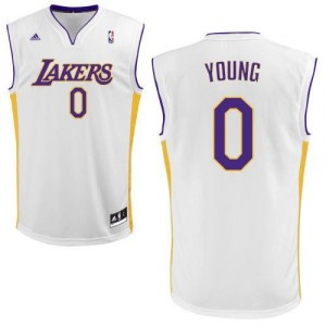 Adidas NBA Nick blanc sans maillot Lakers hommes