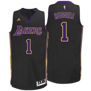 D'Angelo Russell Los Angeles Lakers 1 2014-15 nouvelle Swingman Alternative Maillot noir