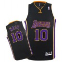 Noir/violet Jersey NBA Steve Nash authentique masculin - Adidas Los Angeles Lakers & 10