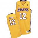Maillot or NBA Vlade Divac Swingman masculine - Adidas Los Angeles Lakers & maison 12