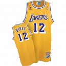 Maillot or NBA Vlade Divac Swingman Throwback masculine - Adidas Los Angeles Lakers & 12