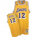 Maillot or NBA Vlade Divac Swingman Throwback masculine - Adidas Los Angeles Lakers & 12
