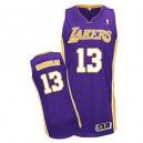Jersey violet de NBA Wilt Chamberlain authentiques hommes - Adidas Los Angeles Lakers & route 13