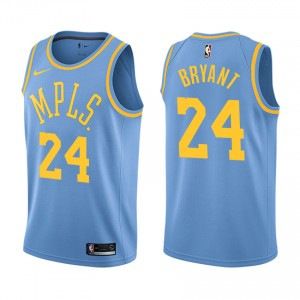 Los Angeles Lakers Kobe Bryant &24 retraite joueur classique maillot bleu