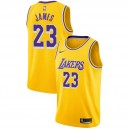 Los Angeles Lakers Homme LeBron James ^ Icône 23 Jersey d'or