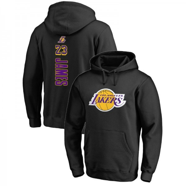uk availability 4c20e 73ddf Los Angeles Lakers Male LeBron James # 23 Backer Pullover ...
