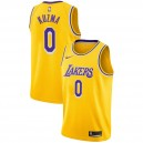 Lakers de Los Angeles masculin Kyle Kuzma ^ 0 Icon Gold Jersey