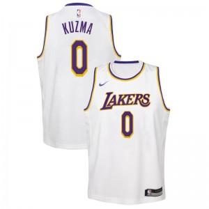 san francisco fc115 45329 Jeunes Lakers de Los Angeles Kyle Kuzma # 0 Association ...