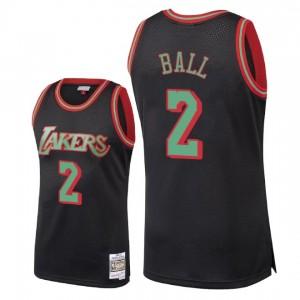Maillot Lonzo Ball Christmas Classics Swingman de Los Angeles Lakers ^ 2 - Noir