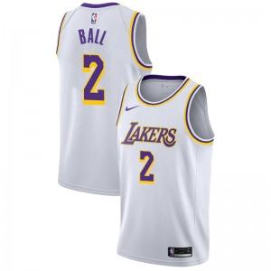Lonzo Ball ^ 2 Association White Jersey des Lakers de Los Angeles