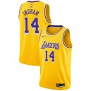 Brandon Ingram # 14 Icône Gold Maillot des Lakers de Los Angeles