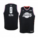 Lakers de Los Angeles ^ 0 Black Kyle Kuzma 2019 All-Star Game Swingman Jersey Junior