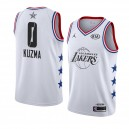 Los Angeles Lakers ^ 0 Blanc Kyle Kuzma 2019 All-Star Game Swingman terminé Jersey Hommes