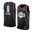 Los Angeles Lakers ^ 0 Black Kyle Kuzma 2019 All-Star Game Swingman a terminé Jersey Hommes